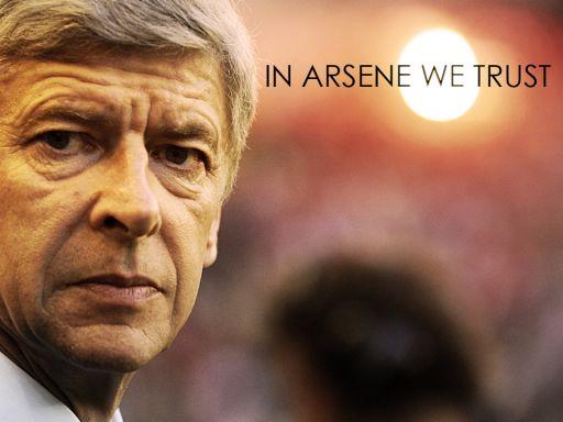 Arsène Wenger, solo humo