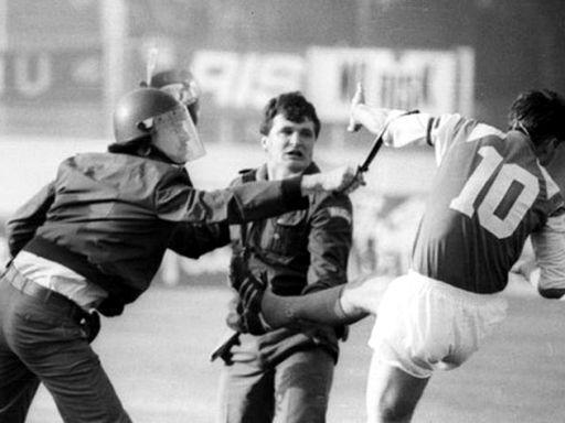 Fútbol y guerra en la antigua Yugoslavia
