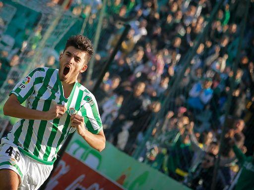 'Dani' Ceballos, un jugador de Primera