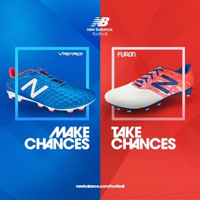"""""""Make Chances"""" or """"Take Chances"""": New Balance Visaro y Furon"""