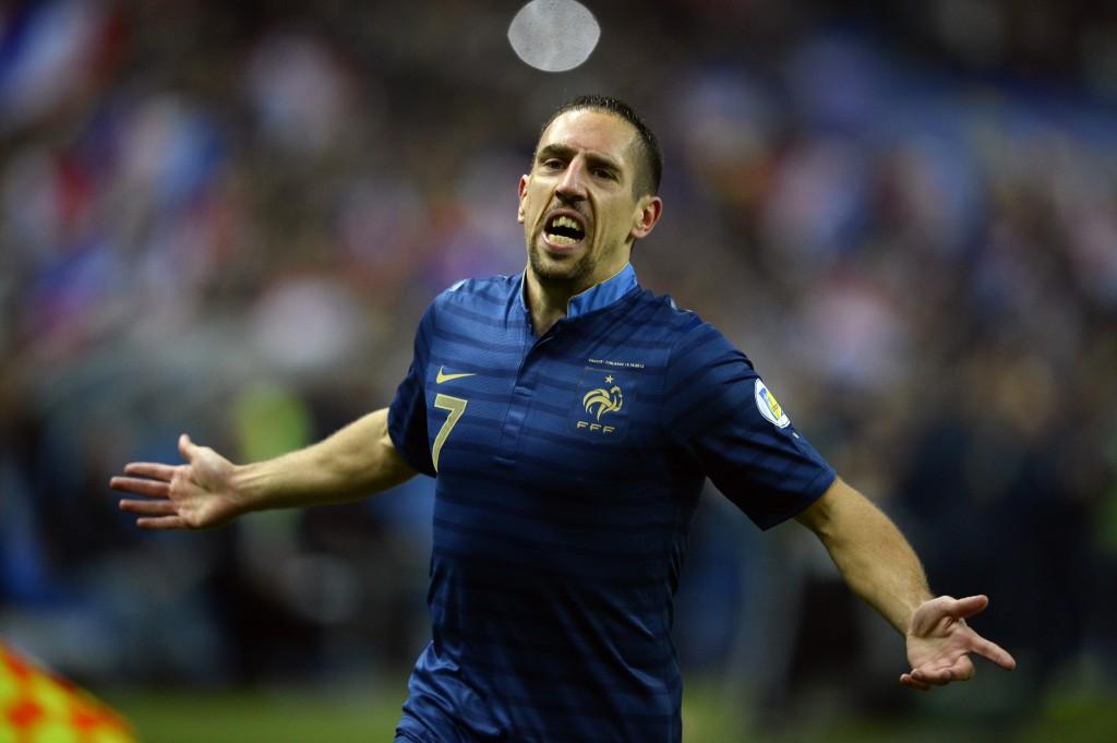 Frank Ribéry, seis meses para olvidar