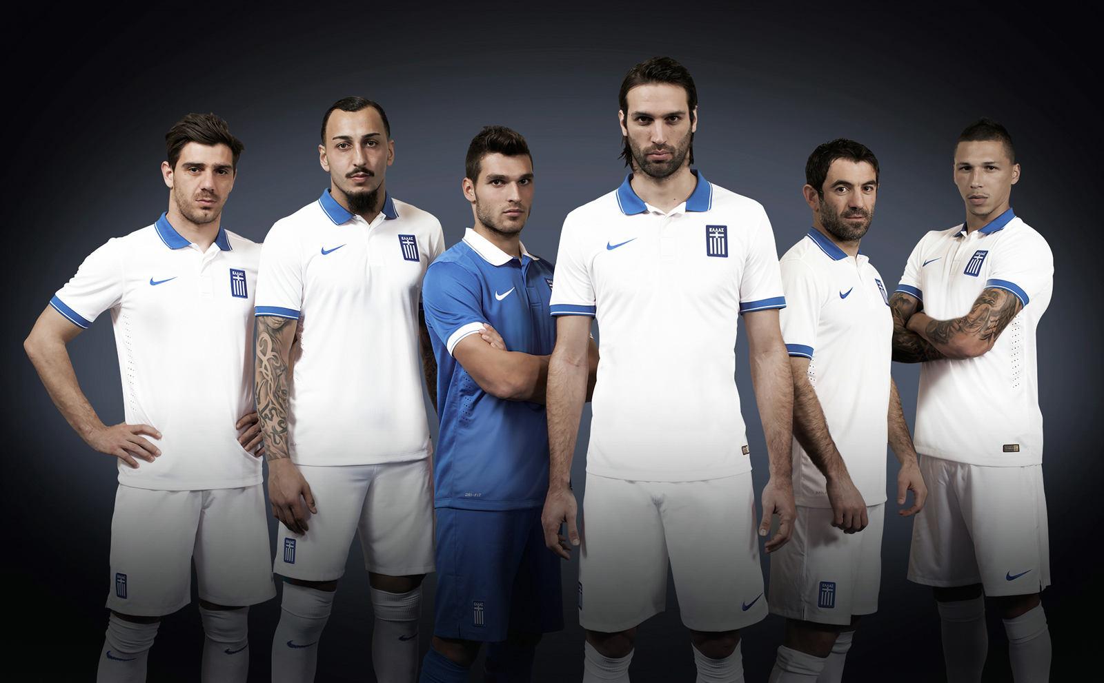 Greece 2014 World Cup Home and Away Kits
