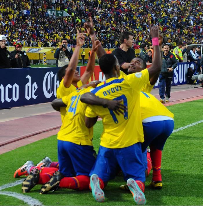 Ecuador, con Chucho en el corazón