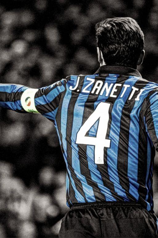 """Javier Zanetti, """"Il Capitano"""" del Inter"""