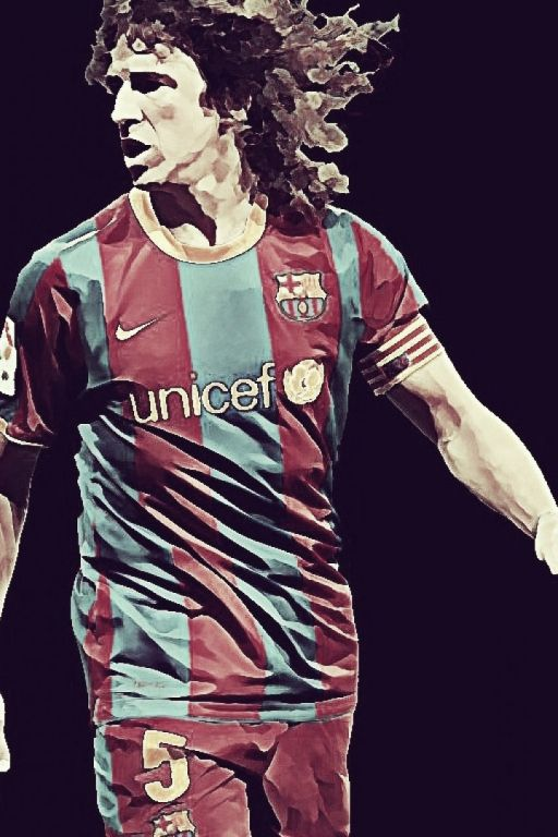 Carles Puyol, el rey león