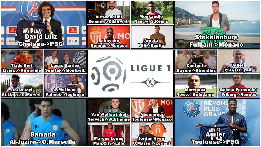 Grandes fichajes Ligue 1