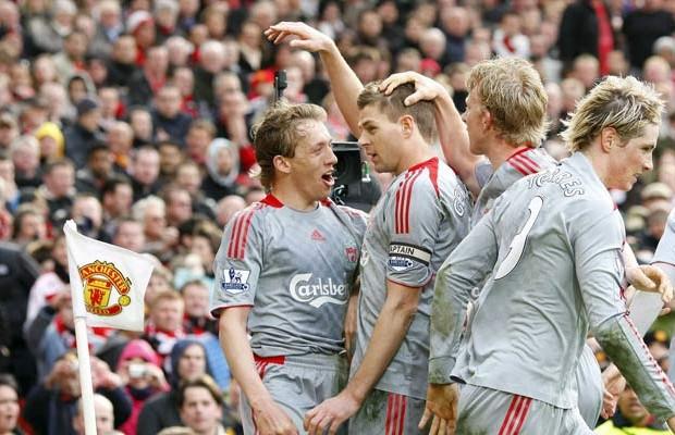 Liverpool en Old Trafford