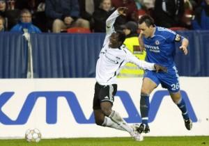 photoblog Una accion tipica de John Terry (Rosenborg 0 - Chelsea 4)