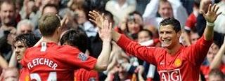 Ronaldo celebrando vs City