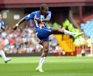 Aston Villa V Wigan Athletic. Barclays Premier League