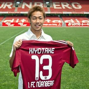 Neuzugang Hiroshi Kiyotake beim 1. FC Nürnberg