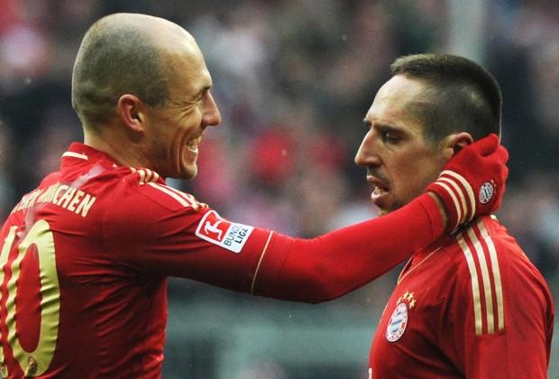 """Robben: """"Sonríe, tio, que viene Guardiola"""" Ribery: """"Estoy sonriendo..."""""""