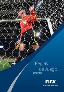 Portada de las Reglas de Juego de la FIFA 2012/2013 (Foto: es.fifa.com)