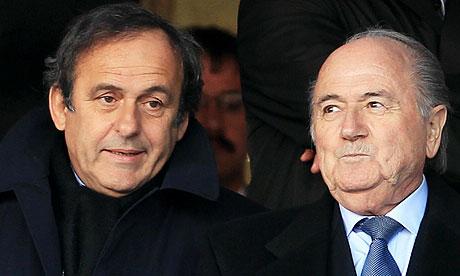 La FIFA y la UEFA no quieren saber nada de la corrupción en el fútbol.