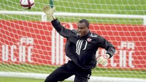 Barel Mouko, capitán de la selección de Congo