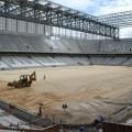 Arena da Baixada, el retraso en la obra (Foto: lanacion.com)