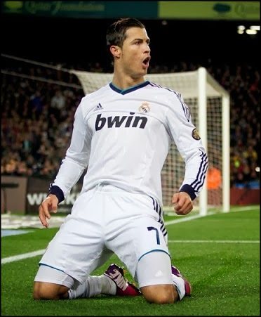 Premios EFEI 2013_Mejor Jugador_Mejor Delantero_Cristiano Ronaldo_Real Madrid_Liga BBVA