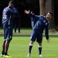 Balotelli_Insigne_Training session