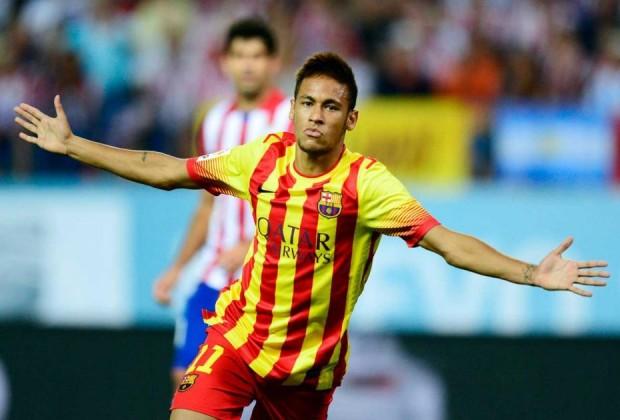 Neymar celebrando su gol en la Supercopa (Foto: melty.es)