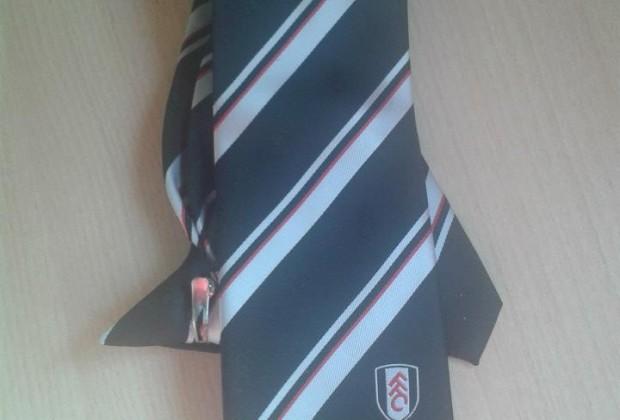 La corbata, uno de los mayores tesoros de mi armario. (Foto: propia)