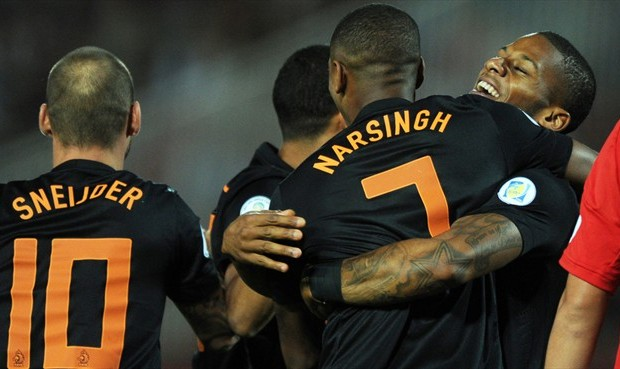 Wesley Sneijder_Luciano Narsingh_Jeremain Lens