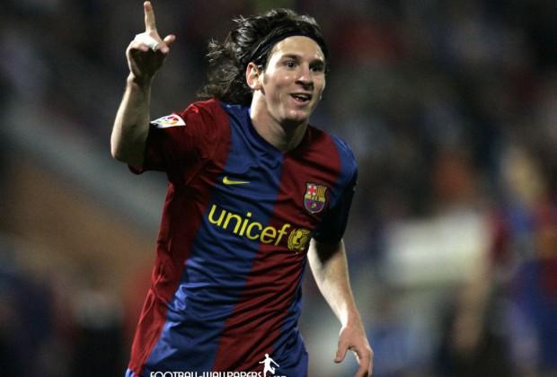 Messi cuando no economizaba esfuerzos (Foto: lacomunidad.as.com)