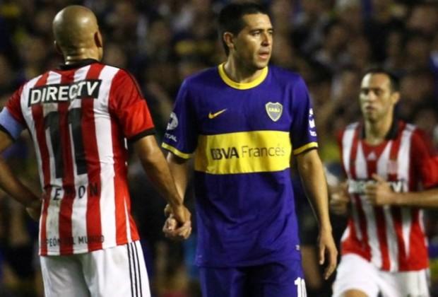 Riquelme volvió a las canchas (Foto: Infobae.com)