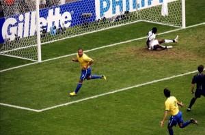 Ronaldo Nazario_Brasil_Ghana_Mundial Alemania 2006_Máximo goleador de la historia de los mundiales