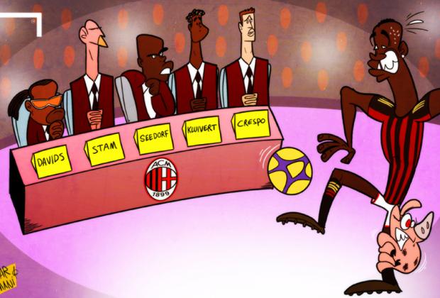 El nuevo equipo técnico de Seedorf al mando del Ac Milan según la prensa (Foto: Goal.com)