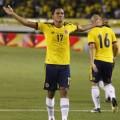 Bacca celebrando un gol con la selección de Colombia (www.palabradafeutbol.co)