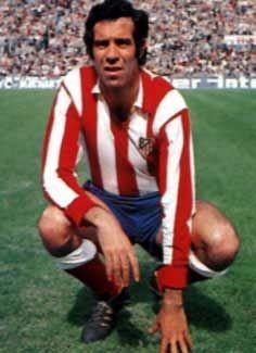 Luis Aragonés, en su etapa de jugador (Fuente www.colchonero.com)