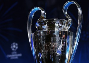 UEFA Champions League Trophy Handover & Draw