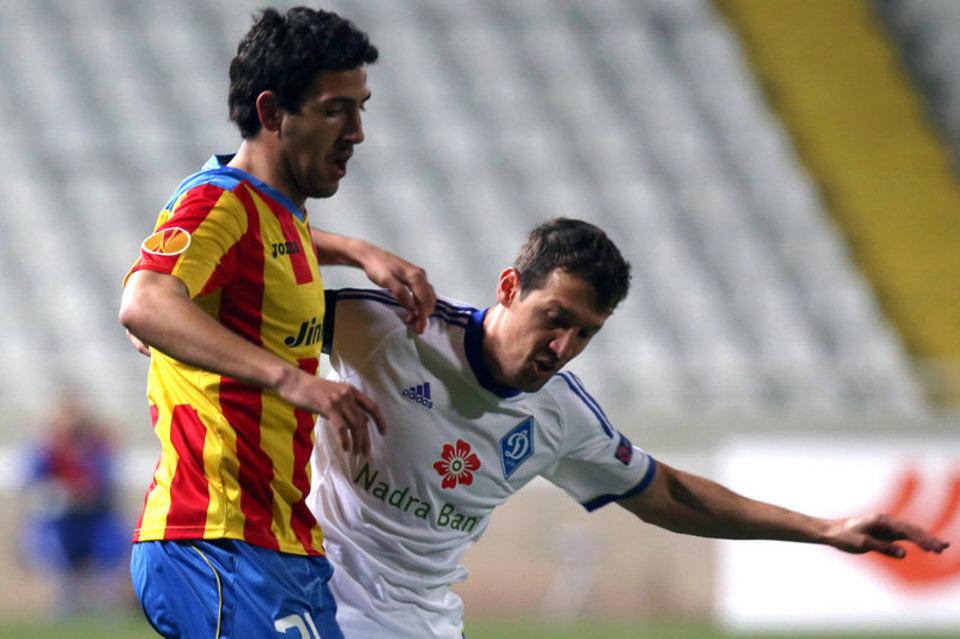 El Valencia ha eliminado al Dynamo Kiev sin muchos apuros (www.mundodeportivo.es)