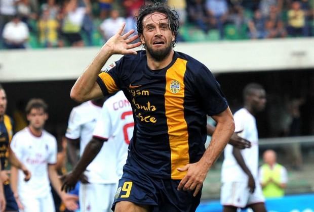 Luca Toni_Calcio_Serie A_Hellas Verona_Italia