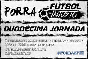 Porra EFEI - Duodecima Jornada