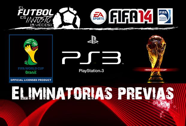 Portada Mundial FIFA 14 - Eliminatorias previas