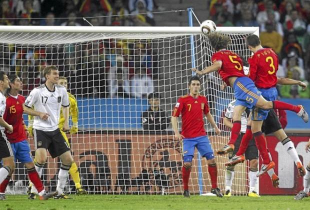 Puyol, el día que saltó más alto (Foto: marca.com)