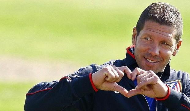 El Cholo sonriente en la actual temporada (Foto: cope.es)