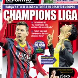 01-04-14 Portada Mundo Deportivo
