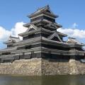 Castillo Matsumoto en la Prefectura de Nagano (Foto Wikipedia Commons)