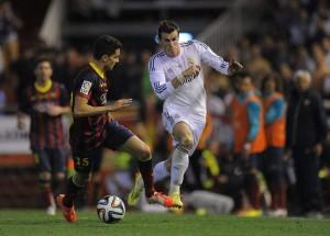 Gareth Bale_Bartra_Real Madrid_Barcelona_Copa del Rey 2014