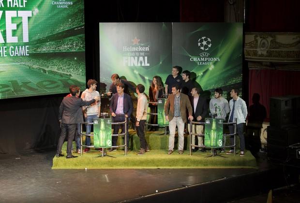 Heineken Match your Half Ticket_Champions League_Martín Vázquez_Laudrup_Molina