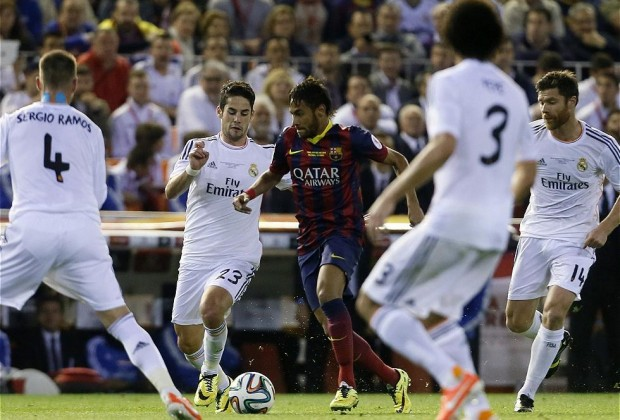 Neymar_F.C. Barcelona_Real Madrid_Final Copa del Rey 2014