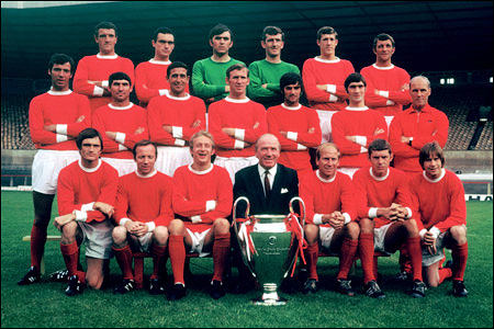 Manchester United_Copa de Europa_Champions League_George Best_Matt Busby_Bobby Charlton