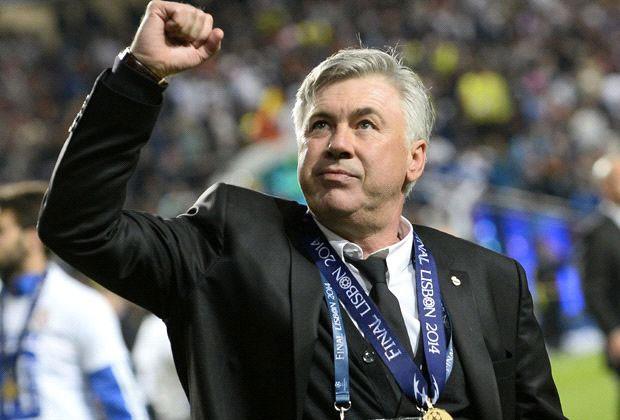 Ancelotti Champions Lisboa