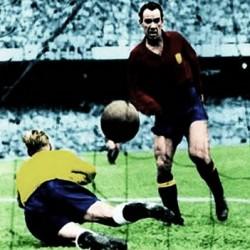 España_Mundial 1950_Telmo Zarra_El gol de Zarra_