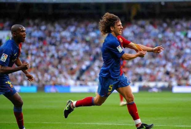 Puyol 2-6 Real Madrid Barcelona