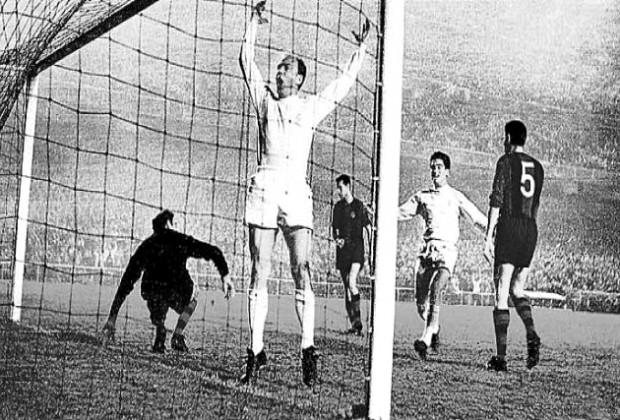 Di Stefano Real Madrid Barcelona Copa Europa 1960