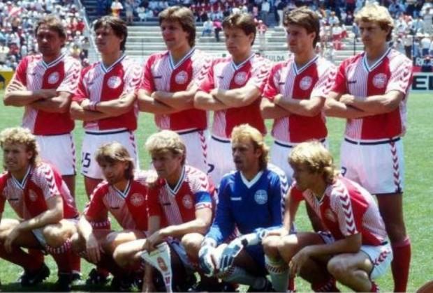 Dinamarca, durante el Mundial 86