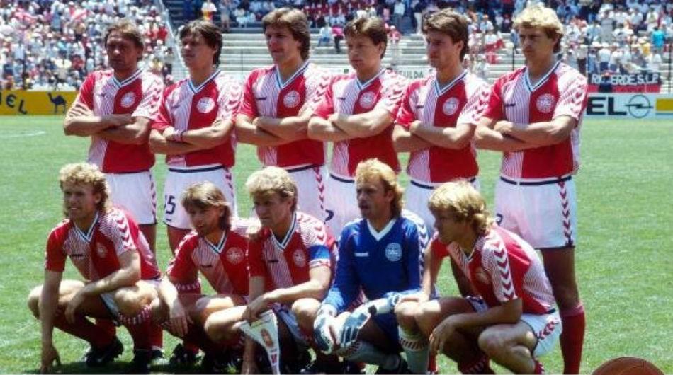 Resultado de imagen para seleccion de dinamarca mundial mexico 1986
